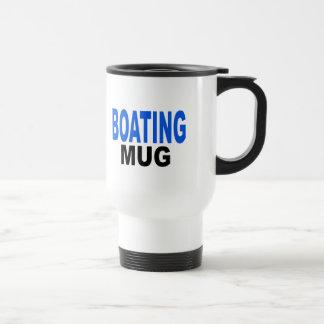 Boating Mug, Boaters gifts Stainless Steel Travel Mug