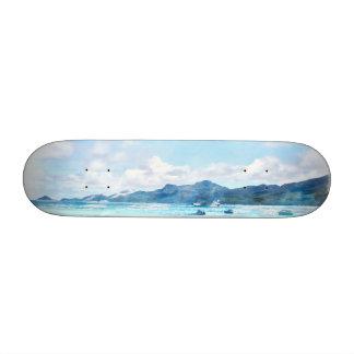 Boating must be fun 21.6 cm skateboard deck