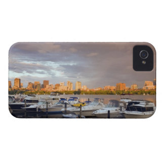 Boating on The Charles River at dusk iPhone 4 Cover