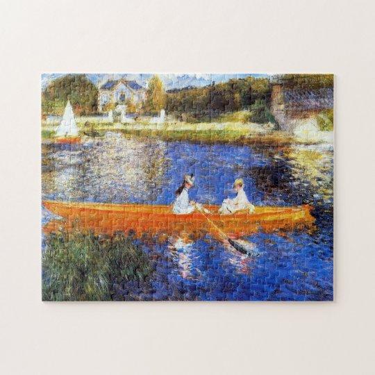 Boating on the Seine River Renoir Fine Art