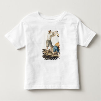 Boatmen Pouring Fresh Water into the Pipelines Toddler T-Shirt