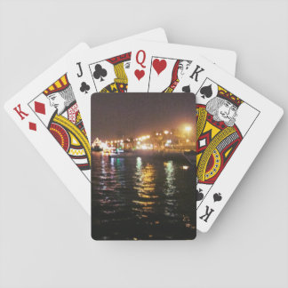 Boats and Lights Playing Cards