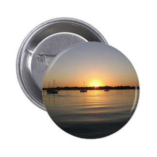 Boats and Sunrise Button