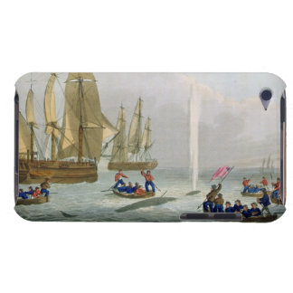 Boats Approaching a Whale, engraved by Matthew Dub iPod Touch Case-Mate Case