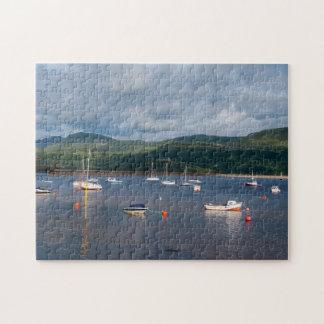 Boats at Barmouth Jigsaw Puzzle