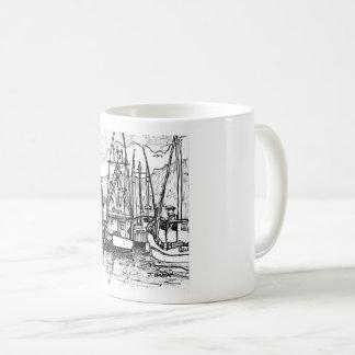 Boats at Charleston Coffee Mug