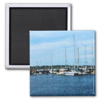 Boats at Newport RI Magnets