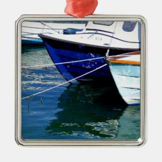 Boats at Rest (2).JPG Christmas Ornament