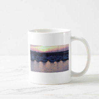 Boats at rest basic white mug