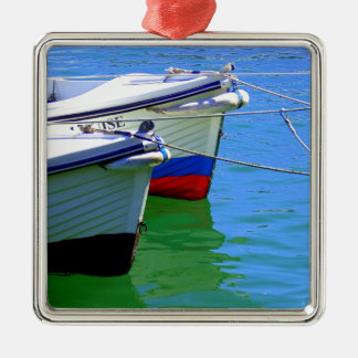 Boats at Rest.jpg Christmas Ornament