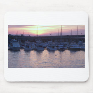 Boats at rest mouse pad