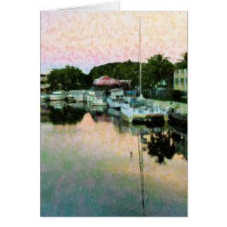 Boats At Rest Note Card