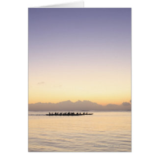 Boats at Sea Greeting Cards