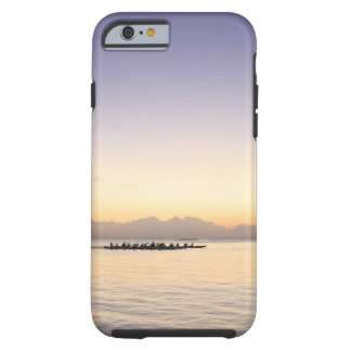 Boats at Sea Tough iPhone 6 Case