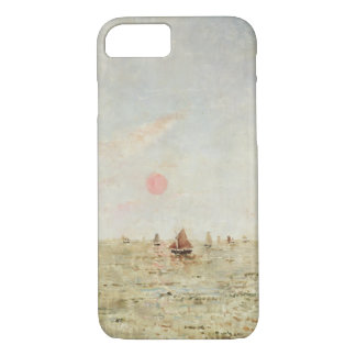 Boats at Sunrise (oil on panel) iPhone 8/7 Case