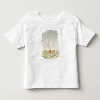Boats at Sunrise (oil on panel) Toddler T-Shirt