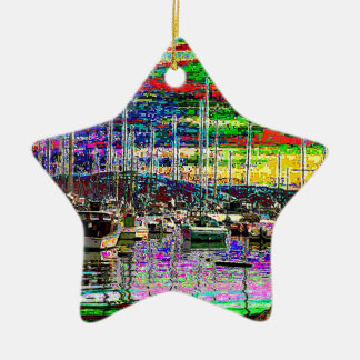 Boats at Tarabya Bay Christmas Ornament