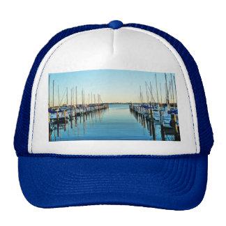 Boats At The Marina Hats