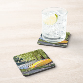 Boats at Tyler Park Beverage Coasters