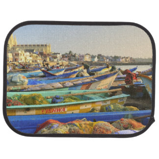Boats being readied for fishing, The Church of Car Mat
