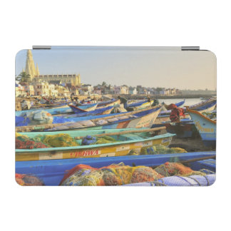 Boats being readied for fishing, The Church of iPad Mini Cover