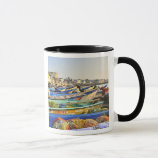 Boats being readied for fishing, The Church of Mug