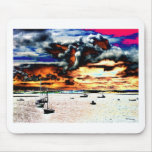 boats by Tom Conway Mousepad