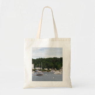 Boats in Boothbay Harbor Budget Tote Budget Tote Bag
