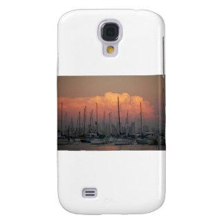 Boats in harbor galaxy s4 case