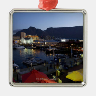 Boats in harbor, South Africa Christmas Ornament