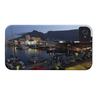 Boats in harbor, South Africa iPhone 4 Covers