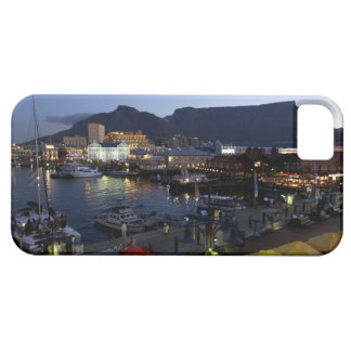 Boats in harbor, South Africa iPhone 5 Case