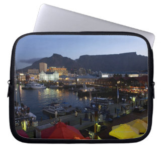 Boats in harbor, South Africa Laptop Sleeve
