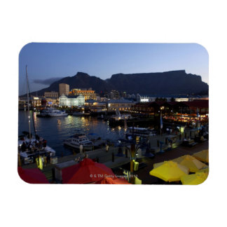 Boats in harbor, South Africa Magnet