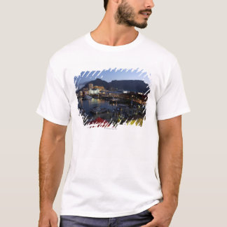 Boats in harbor, South Africa T-Shirt