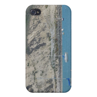 Boats in Port San Luis, Avila Beach, Hills Behind iPhone 4/4S Case