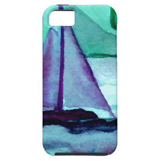 Boats in the Bathtub Sailing Art CricketDiane iPhone 5 Cases