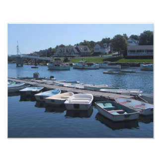 Boats In The Cove Photo