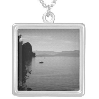 Boats In The Distance Custom Necklace