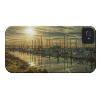 Boats in the Harbor 2 Blackberry Bold Case Case-Mate iPhone 4 Case