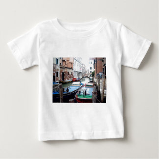 Boats in Venice Baby T-Shirt