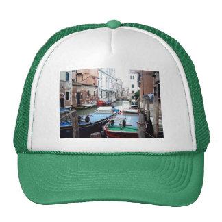 Boats in Venice Cap