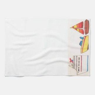 Boats! Kitchen Towel