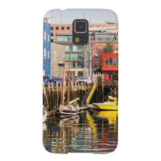 Boats Moored | Portland, Maine Galaxy S5 Covers