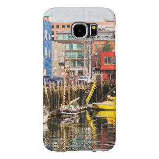 Boats Moored | Portland, Maine Samsung Galaxy S6 Cases