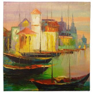 Boats Napkin
