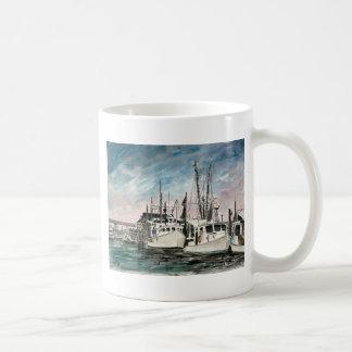 boats nautical art coffee mugs