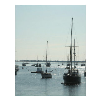 Boats on Diamond Water Flyers