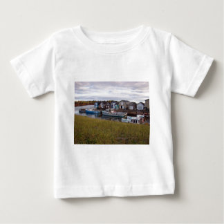 Boats on Prince Edward Island Baby T-Shirt