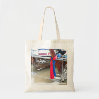 Boats On The Beach | Phi Phi Islands, Thailand Tote Bag